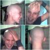 Photo of what I looked like after my first headshave, in 2003