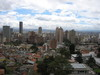 View from the top (8th) floor of the Chemistry building at Universidad de los Andes