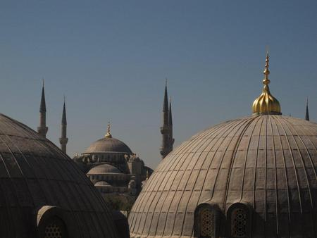 blue mosque from the ayasofya