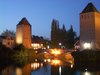 City of Bridges - Strasbourg at night (covered bridges)